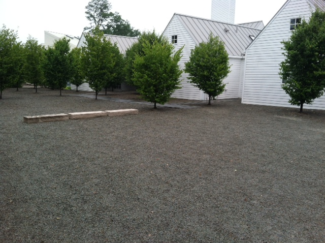 Gravel lawn in Pittsburgh