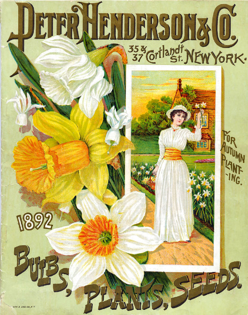 Henderson Catalog Cover Of 1899