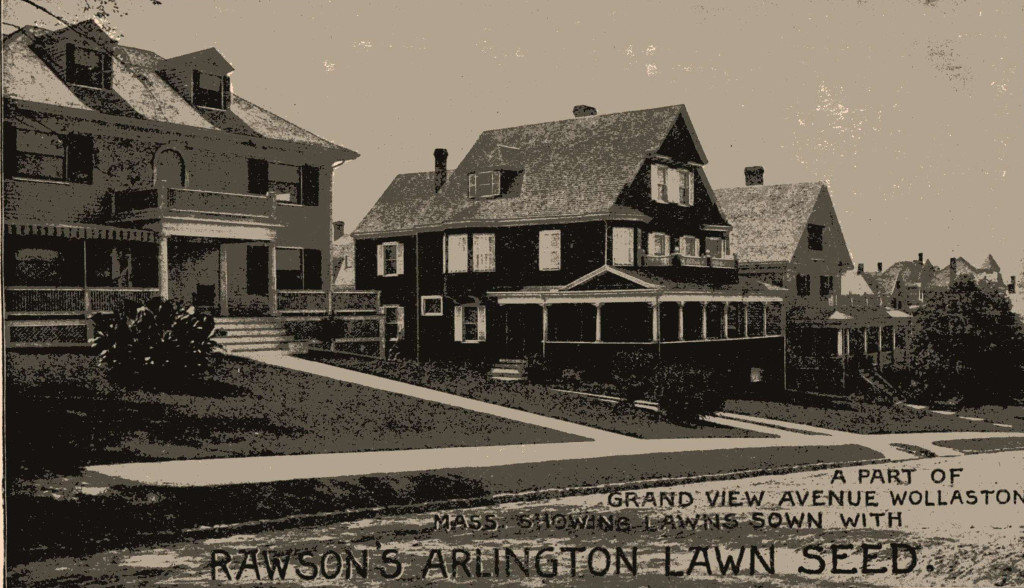 The lawn photo in the 1901 Rawson catalog