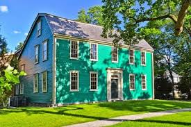 The Durant-Kenrick House, Newton, Mass. is now a museum, dedicated to the famous families that lived there since 1740.