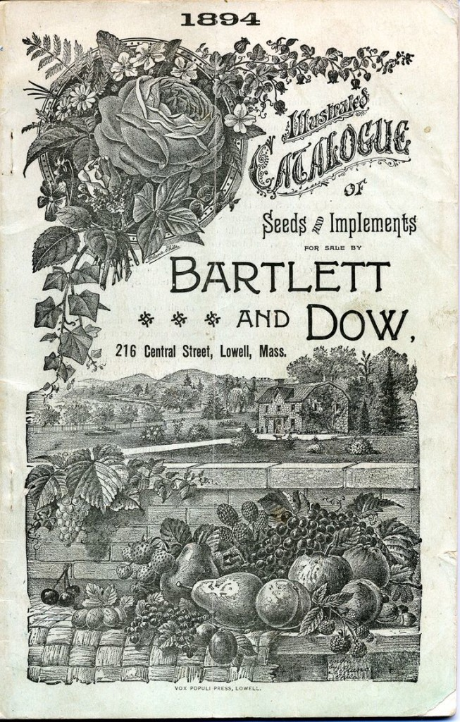 Seed Catalog from 1894