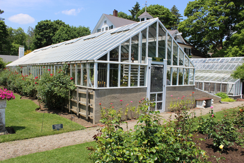 Greenhouse at Fuller Gardens