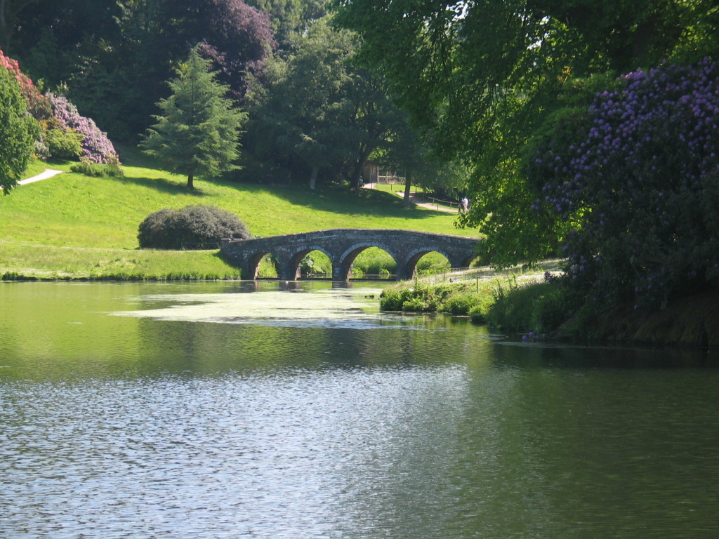 Bridge at Stourhead