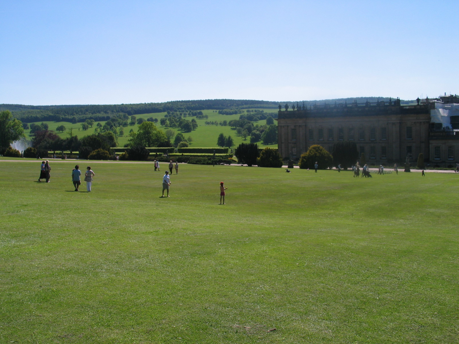 The Lawn at Chatsworth