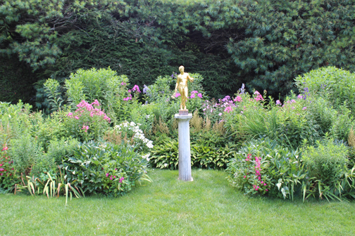 Cornish Formal Garden at the Home Saint Gauden
