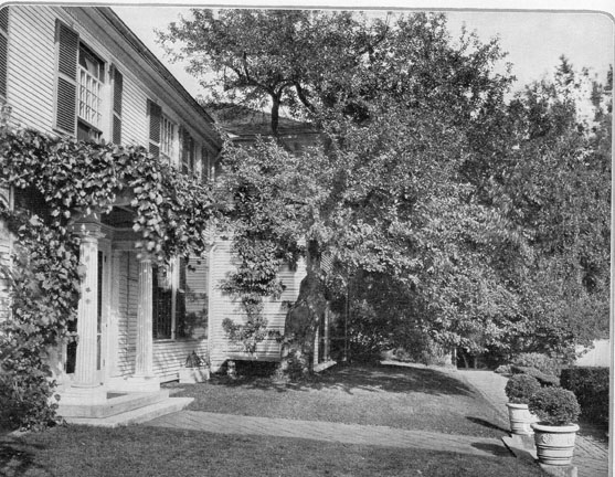 The home of Charles Platt in New Hampshire. [House & Garden, April, 1924]