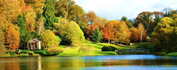 Stourhead in the Fall [Courtesy of Great British Gardens]