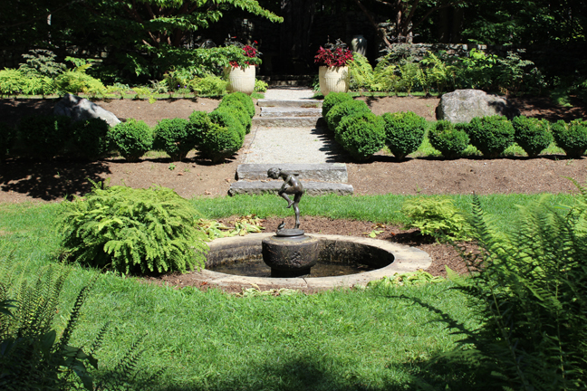 Fells small formal garden